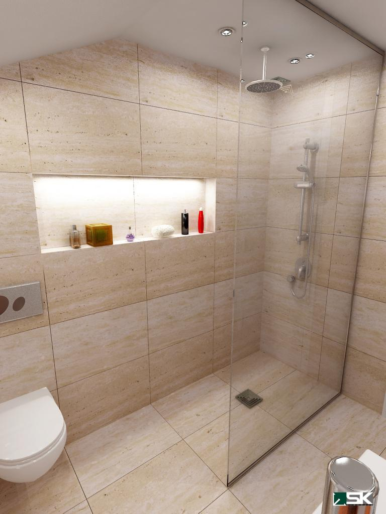 attic shower room ideas - Bathrooms and Wet Rooms